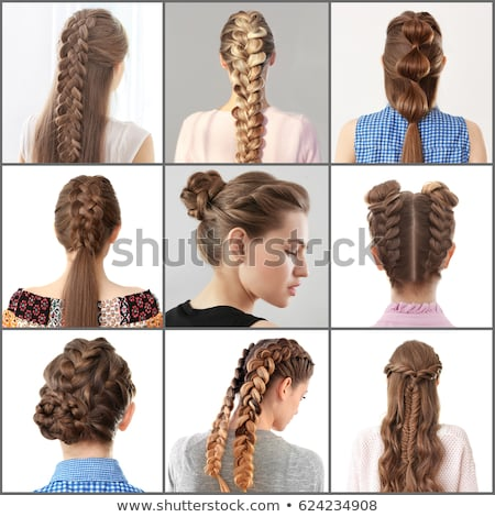 Women Different Hairstyles Stock Photo (Edit Now) 624234908