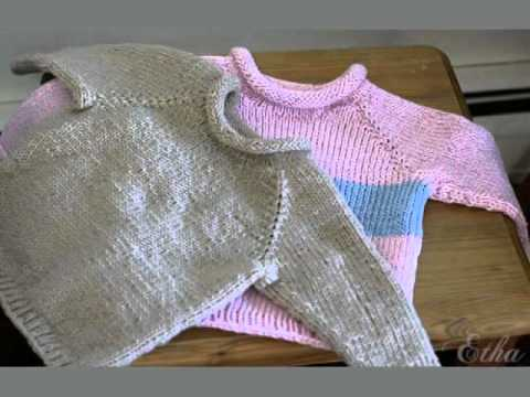 Easy Baby Sweater Knitting Patterns Free - YouTube