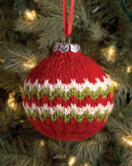 Candy Cane Ball Christmas Ornament | Christmas Ornaments | Pinterest
