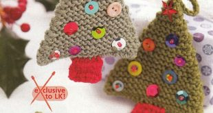 How to Knit - 45 Free and Easy Knitting Patterns | Christmas
