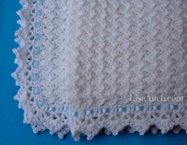 FREE Crochet Pattern Baby Blanket EASY - Little Clouds Crochet