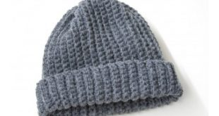 Crochet Kit - Adult's Easy Crochet Hat | Lion Brand Yarn