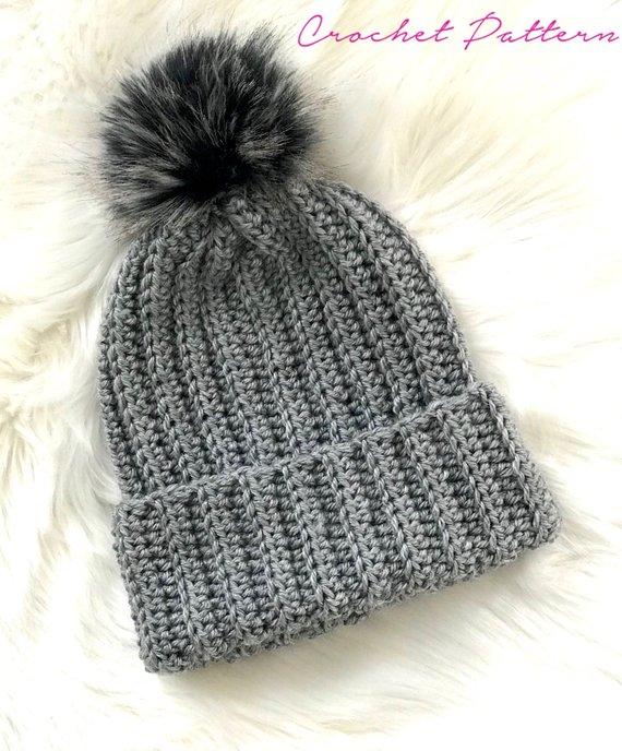 Crochet PATTERN Crochet Hat Pattern Easy Crochet Pattern | Etsy