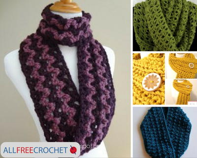 Make your own easy crochet scarf.