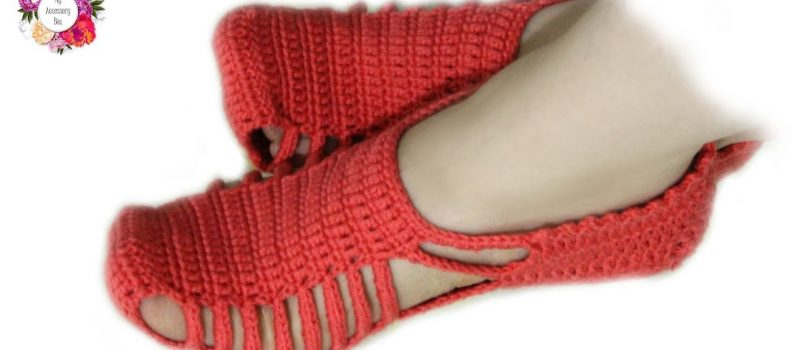 Video Tutorial] This Easy Crochet Slippers With Unique Design Are