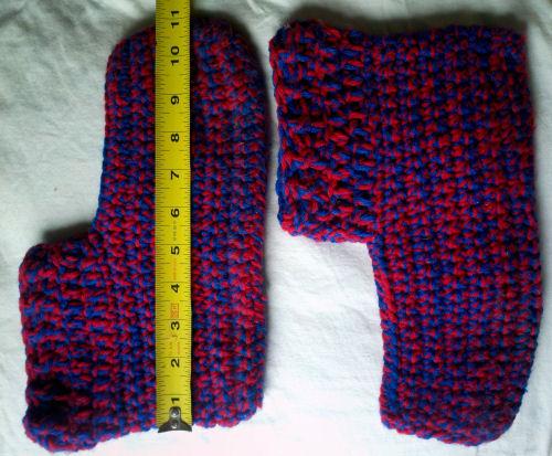 Men's Easy Crochet Slippers