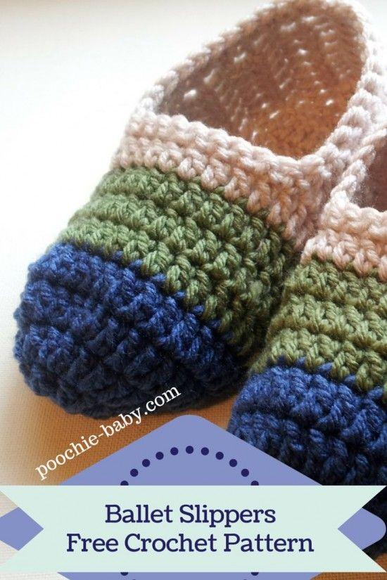 Crochet Loafer Slipper Pattern | Things I love | Crochet, Crochet