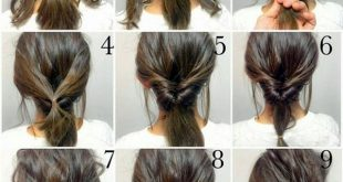 quick-hairstyle-tutorials-for-office-women-33 | Easy hairstyles