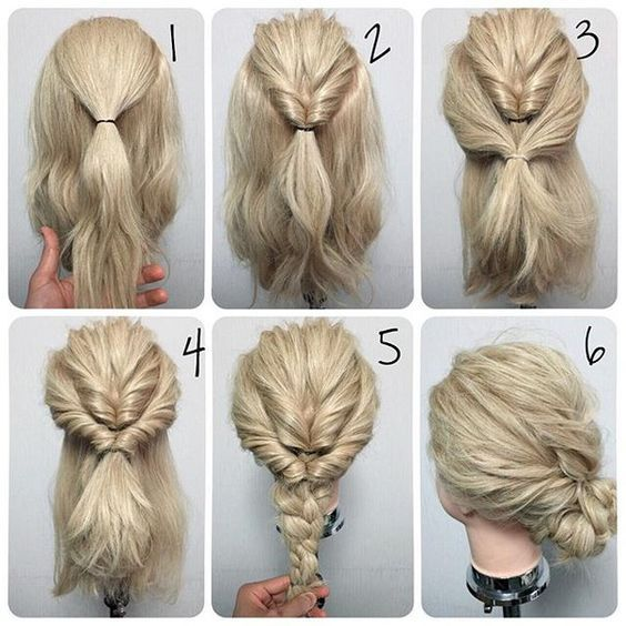 easy hair do but can't read the language lol | Hair & Beauty