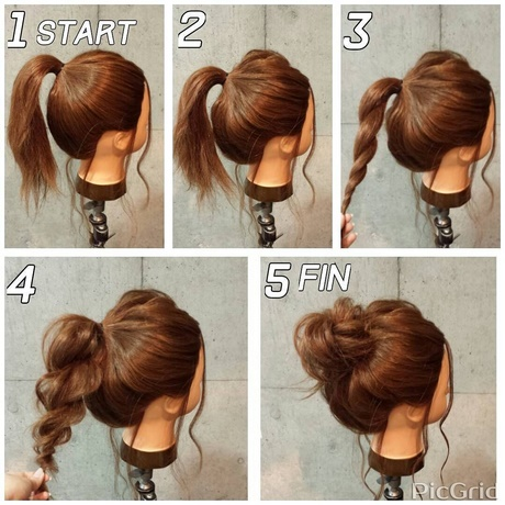 Super Easy Hair Updos infosuper easy hairstyles for beginners