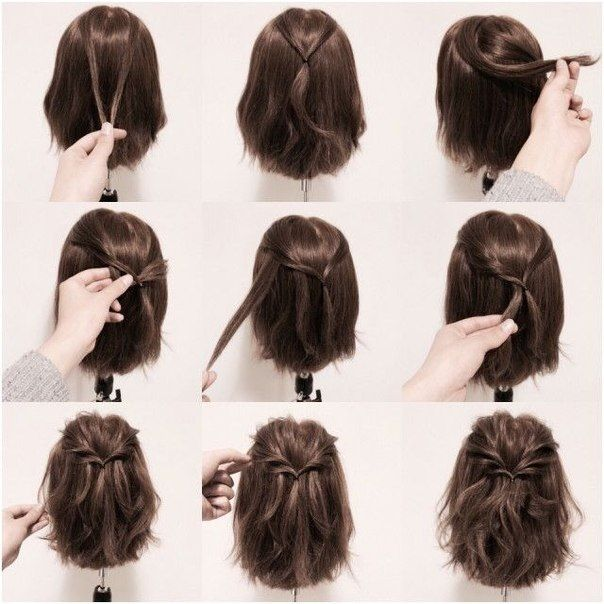 Ideas for hairstyles (3) | My Style | Pinterest | Short hair styles
