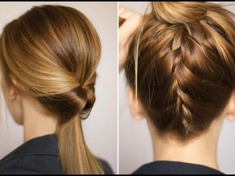 How to Make Easy Hairstyles for Medium Length Hair? | CREA-TIVAS.ORG