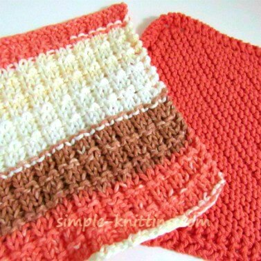 Dishcloth Knitting Patterns - Simple And Easy Knitting