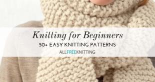 50+ Easy Knitting Patterns for Beginners   AllFreeKnitting.com