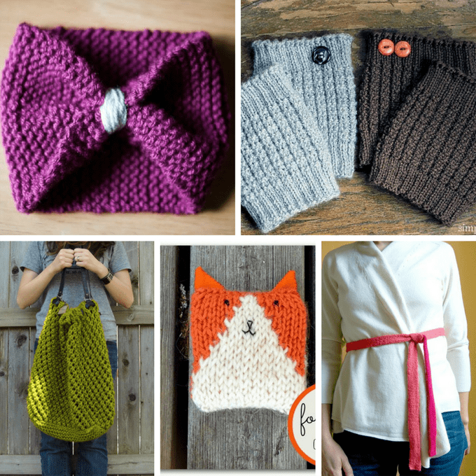A guide to easy knitting projects