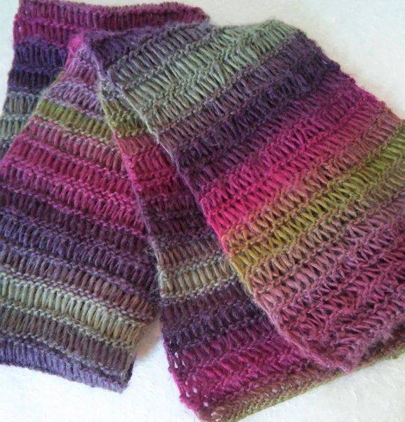 SCARF PATTERN Mans Long Wool Scarf Knitting Pattern Mens Easy | Etsy