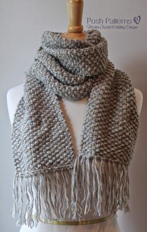 26 Free Knit Scarf Patterns | AllFreeKnitting.com