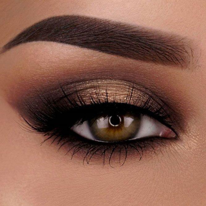 36 Flattering Ideas for Light Brown Eyes Makeup | Eye makeup