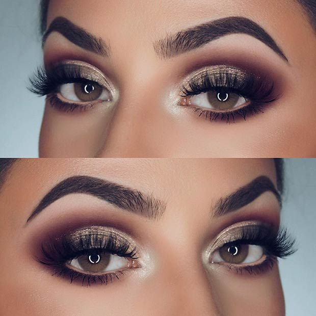 21 Gorgeous Makeup Ideas for Brown Eyes | StayGlam Beauty | Eye