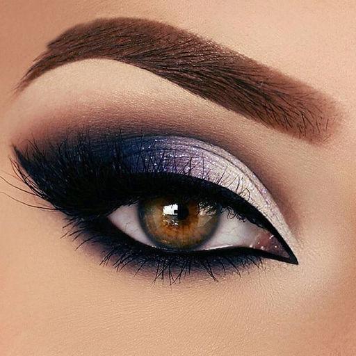 Eye Makeup Ideas - Smokey Eye Shadows Pictures by Rakeshkumar Patel