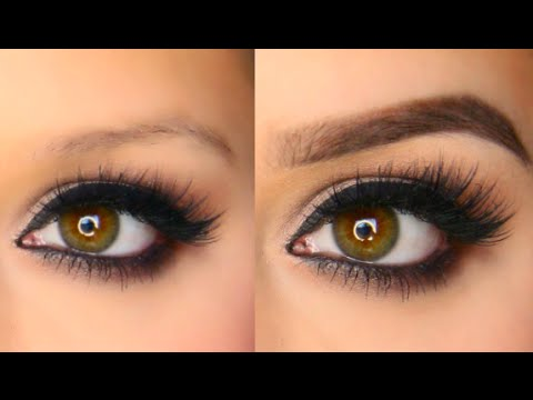 Easy Eyebrow Tutorial - YouTube