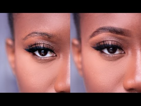 HOW TO Eyebrows 101 | Drugstore Makeup | JASMINE ROSE black women