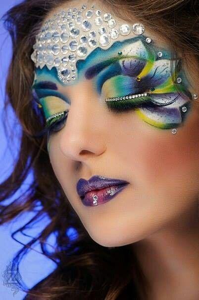Fantasy makeup u2026 | Cosplay, costumes, head dresses, and masks