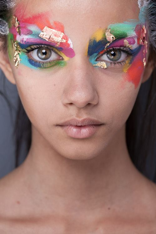 High Fashion Makeup color colors colour colours colorful colourful
