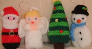 Over 50 Free Knitted Christmas Knitting Patterns | Christmas