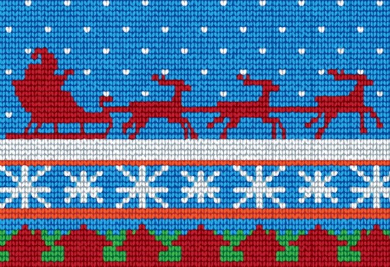 The Big List of Free Christmas Knitting Patterns (100+) | Knitting Women