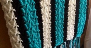 Video Tutorial] Simple And Lovely Arrow-Shaped Stitch Afghan Pattern