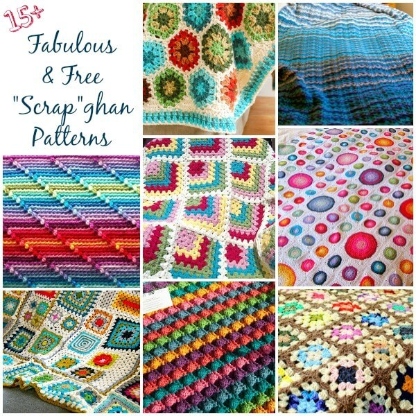 Lots of Free Crochet Afghan Patterns u2026 Perfect for Scrapghans