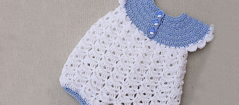 Crochet Baby Romper Free Pattern- Knit And Crochet Daily