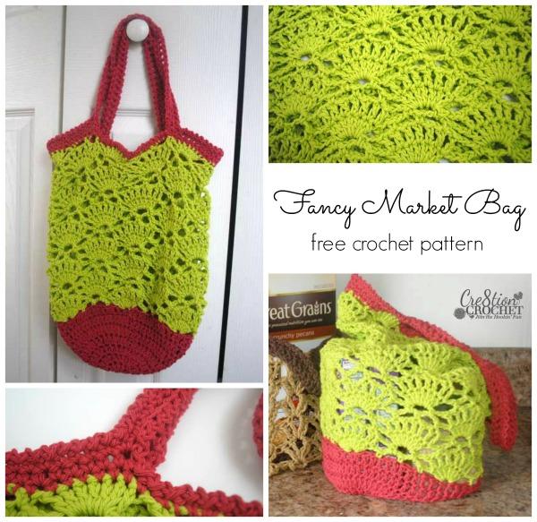 40+ free easy crochet bag & purse patterns