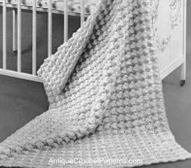 Easy Crochet Baby Blanket Pattern