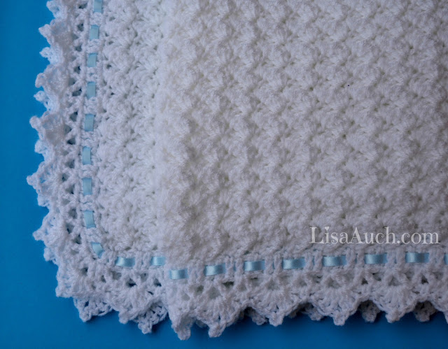 With free crochet patterns for baby blankets, you can make the