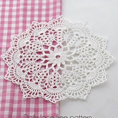 Free Crochet Doily Patterns | Tejer no es Bordar | Pinterest
