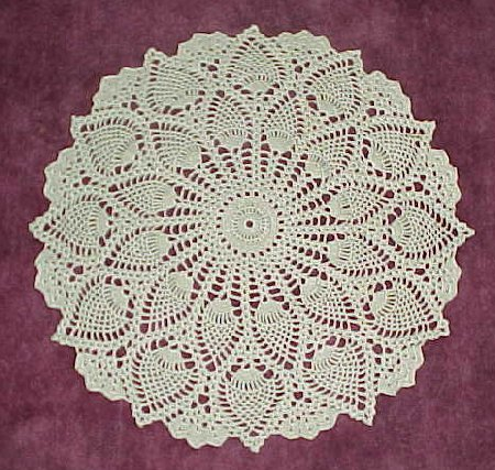 Beautiful vintage and contemporary free   crochet doily patterns