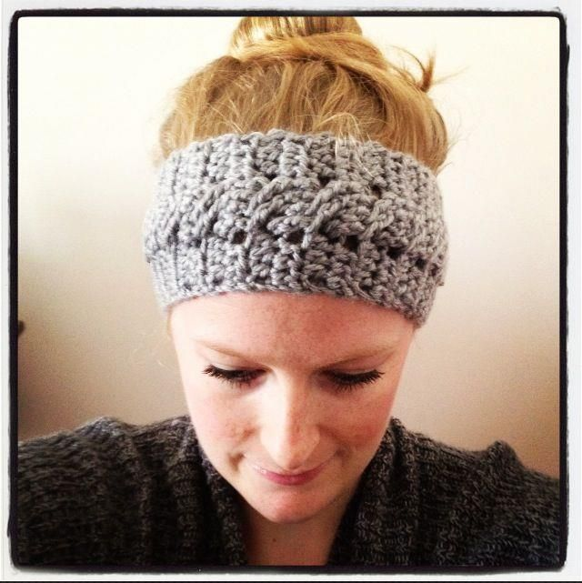 Free Crochet Headband & Earwarmer Patterns | Word work | Crochet