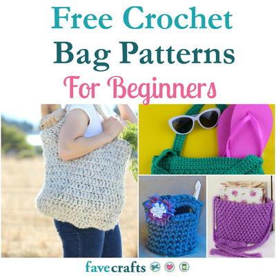 18 Free Crochet Bag Patterns For Beginners | FaveCrafts.com