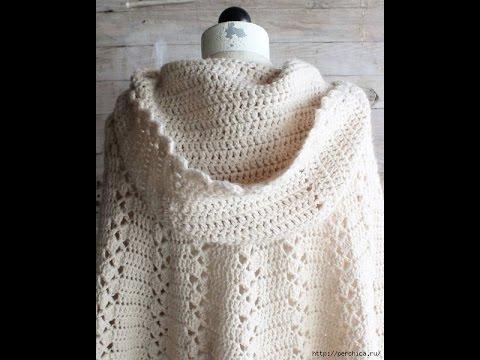 Crochet shawl| free |crochet patterns| 326 - YouTube