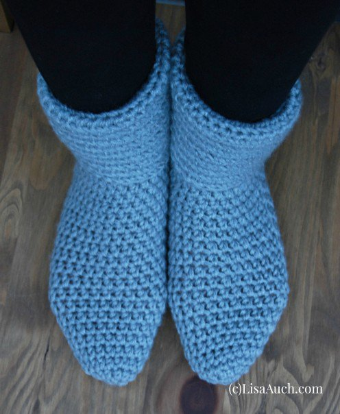 Free Crochet Socks & Easy Crochet Slipper Patterns Ideal for