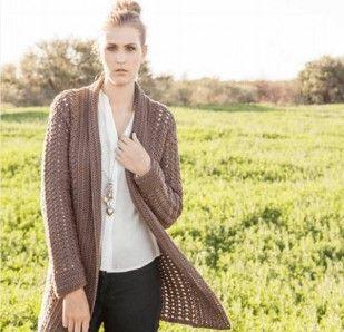 Ladies cardigan | crochet | Crochet, Crochet patterns, Crochet