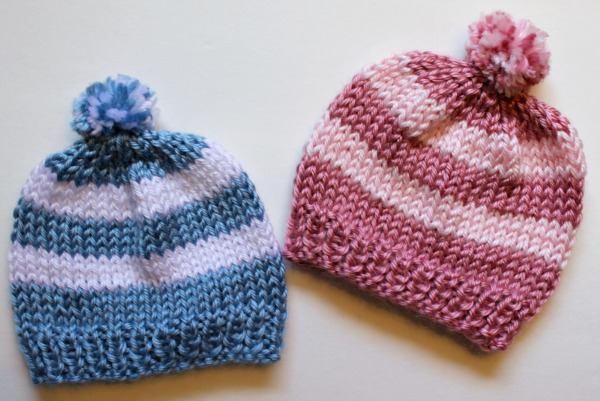 Knitting Newborn Hats for Hospitals - The Make Your Own Zone