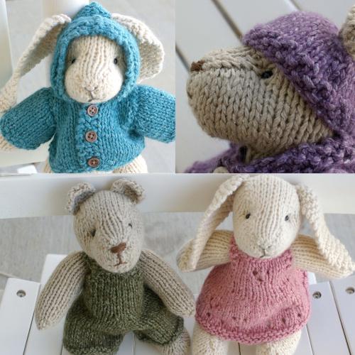 Bunny Rabbit Knitting Patterns - In the Loop Knitting