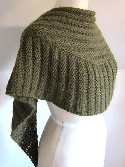 Textured Shawl Knitting Patterns - In the Loop Knitting