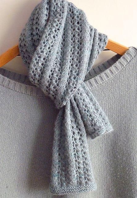 Elegant and FREE Scarf Knitting Patterns | Knitting | Pinterest