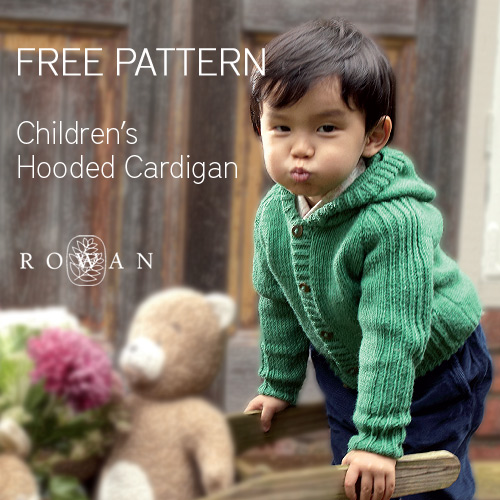 Free pattern: Hazel childrens hooded cardigan u2022 LoveKnitting Blog