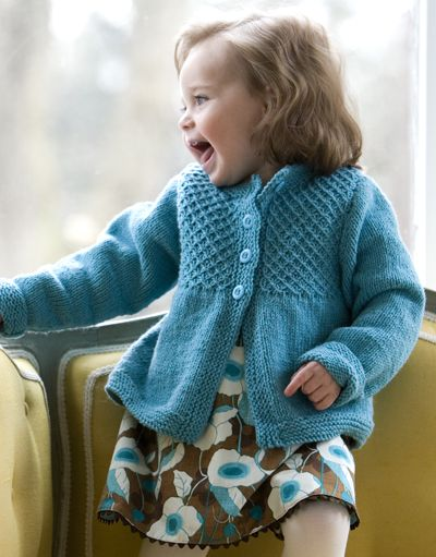 Cardigans for Children Knitting Patterns - In the Loop Knitting