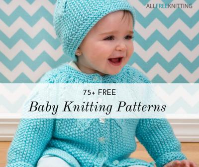 75+ Free Baby Knitting Patterns | AllFreeKnitting.com